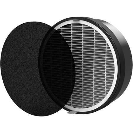 Vornado - HEPA and Charcoal Filter for Air Purifiers - Black/White Compatible with most air purifiers; HEPA filter and charcoal filter; 6-months filter life