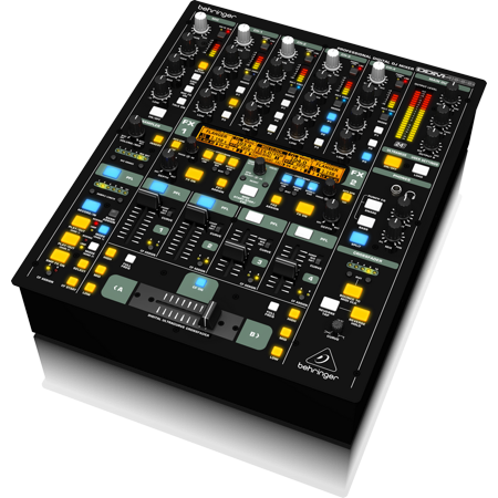 Behringer DDM4000 Ultimate 5-Channel Digital DJ Mixer w/ Sampler, 4 FX Sections, Dual BPM Counters & MIDI