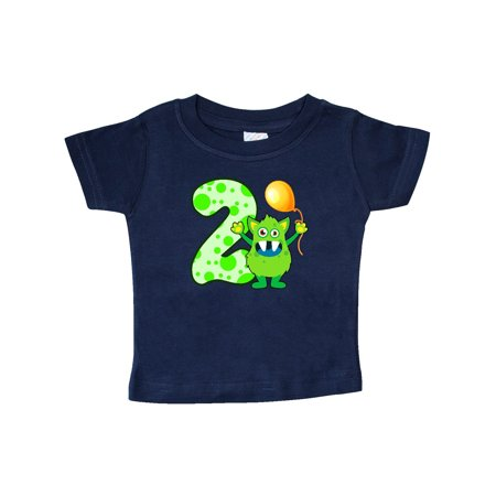 2nd Birthday Monster Baby T-Shirt