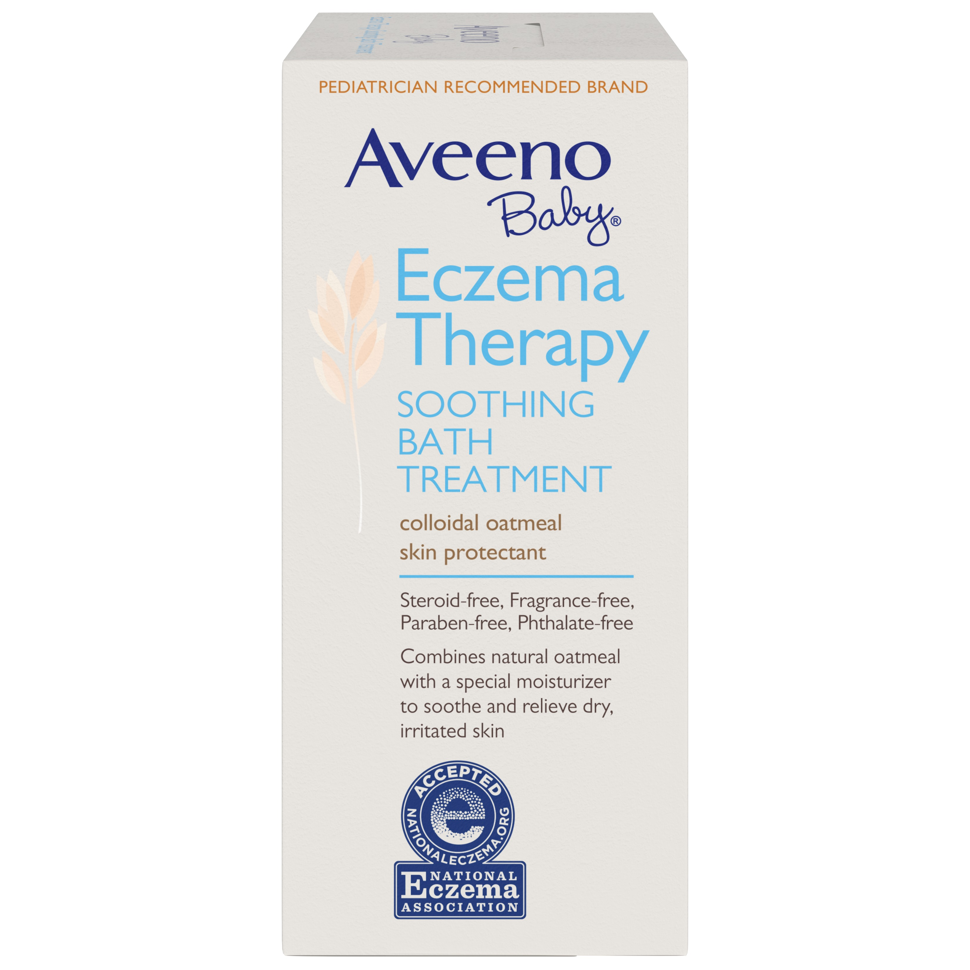 Aveeno Baby Eczema Therapy Soothing Bath Treatment with Natural Oatmeal, 5  ct