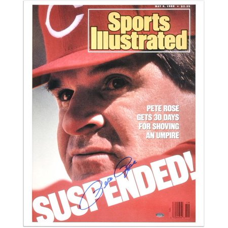 "Pete Rose Cincinnati Reds 1988 Sports Illustrated Cover Autographed 16"" x 20"" Photograph Fanatics Authentic Certified by"