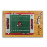 Louisville Cardinals Icon Football Cutting Board Set