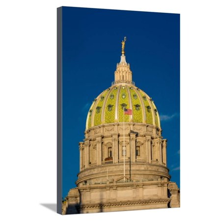 Pennsylvania State Capitol, Harrisburg, PA Stretched Canvas Print Wall
