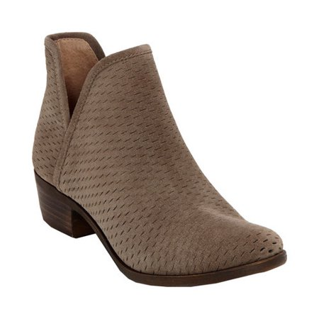 4ba756550 Lucky Brand - Womens Lucky Brand Baley Pull On Ankle Boots, Brindle Oiled  Suede - Walmart.com