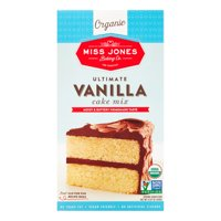 Miss Jones Organic Cake Mix, Vanilla, 15.87 Oz