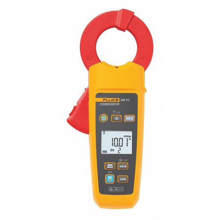 "Digital Current Leakage Tester,1.6"" Jaw FLUKE FLUKE-368 FC"