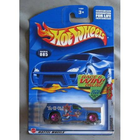Hot Wheels 2002 Yu-Gi-Oh! Fandango 3/4 BLUE #85 #085 - image 1 of 1