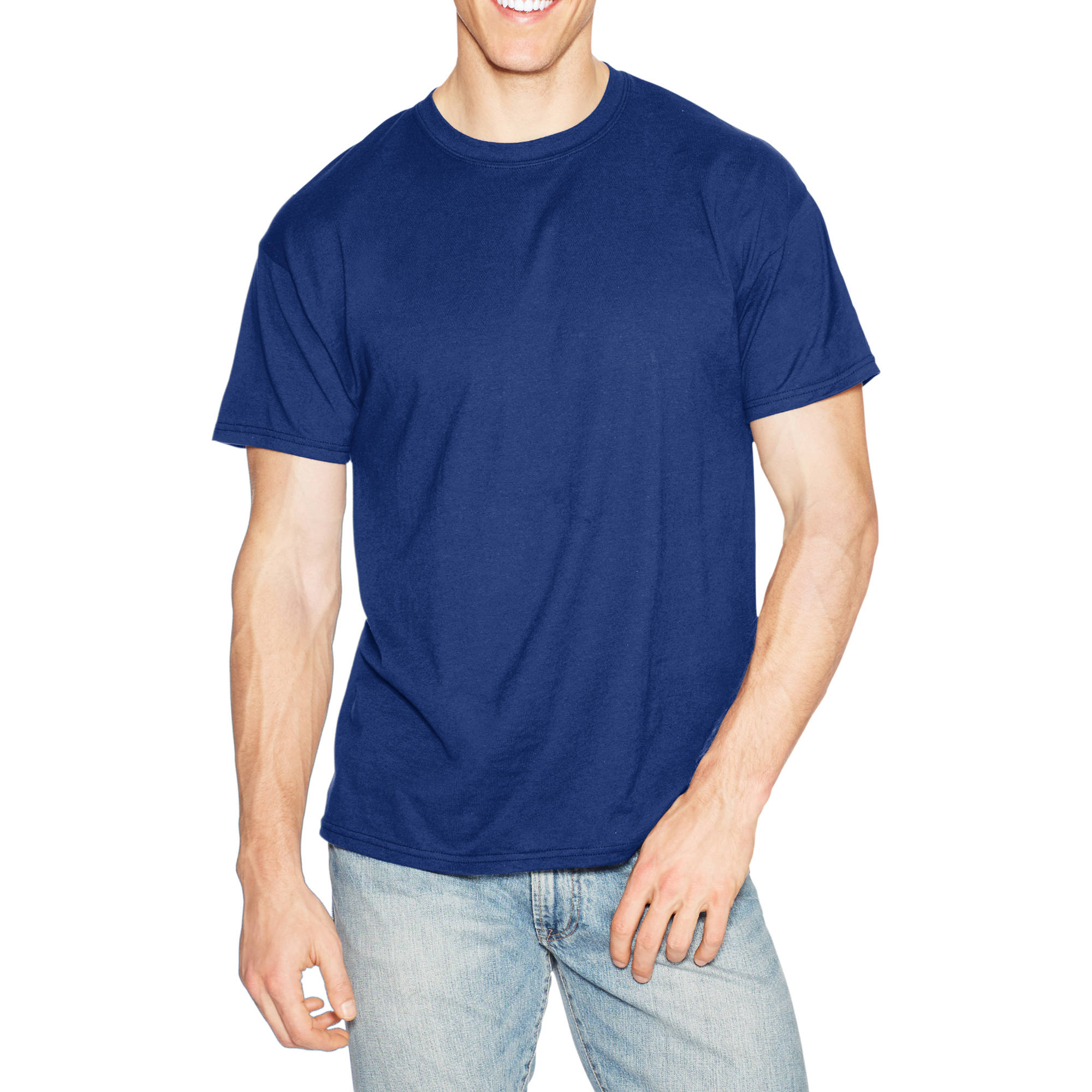 Hanes Big Men's X-temp Short Sleeve Tee