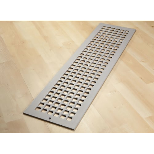 "Reggio Registers G832-SH Grid Series 30"" x 6"" Grille with Mounting Holes"