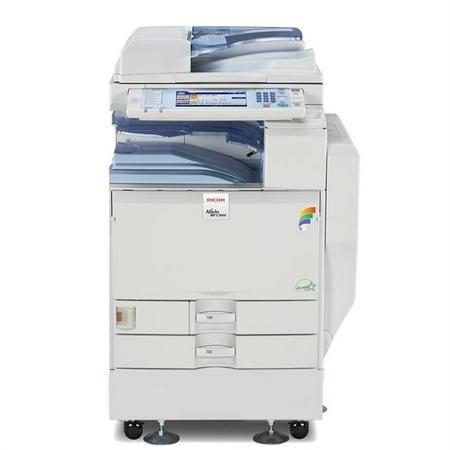 Refurbished Ricoh Aficio MP C3501 A3 Color Laser Multifunction Copier - 35ppm, Copy, Print, Scan, Auto Duplex, Network, 1200 x 1200 dpi, 2 Trays, Stand