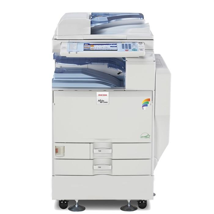 Refurbished Ricoh Aficio MP C3501 A3 Color Laser Multifunction Copier - 35ppm, Copy, Print, Scan, Auto Duplex, Network, 1200 x 1200 dpi, 2 Trays, Stand