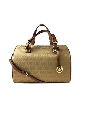 25a2dceb8f60ce Product Image Michael Kors MK Signature Jacquard large Satchel Grayson Tote  Crossbody camel 35F6GGYS3J CAMEL