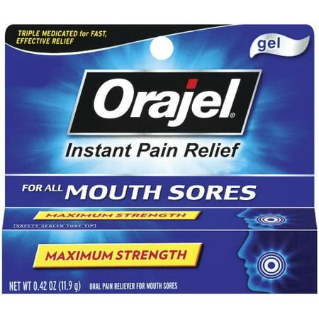 Orajel Mouth Sore Gel