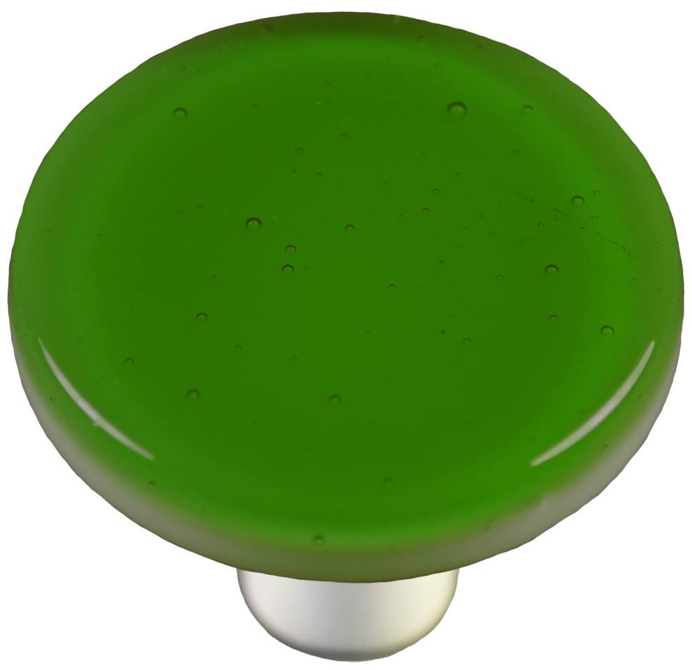 Round Knob in Light Green (Aluminum)