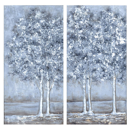 Crestview Collection 'Two of Us' 2 Piece Painting Print on Canvas Set