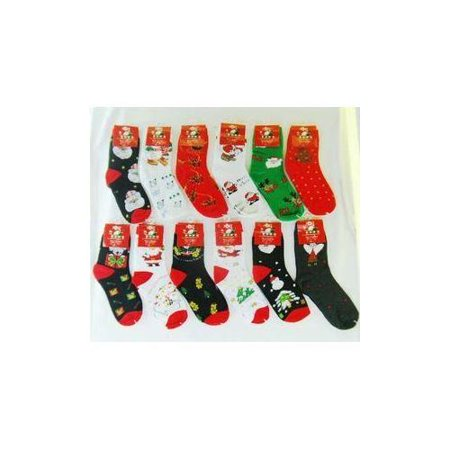 kids christmas socks pack of 96 - Walmart Christmas Socks