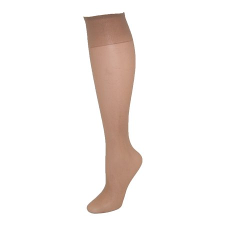 131ac047f0d74 L'eggs - Women's Plus Size Nylon Knee Highs (Pack of 6) - Walmart.com