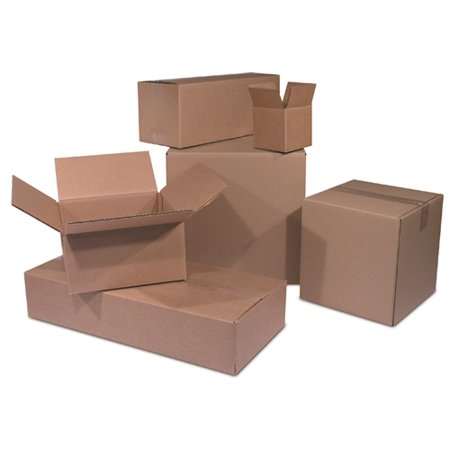 25 Shipping Moving Boxes 6 x 4 x 4 (6 X 6 X 6 Shipping Boxes)