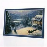 DaySpring  -  Thomas Kinkade Glory to God - 18 Premium Christmas Greeting Cards