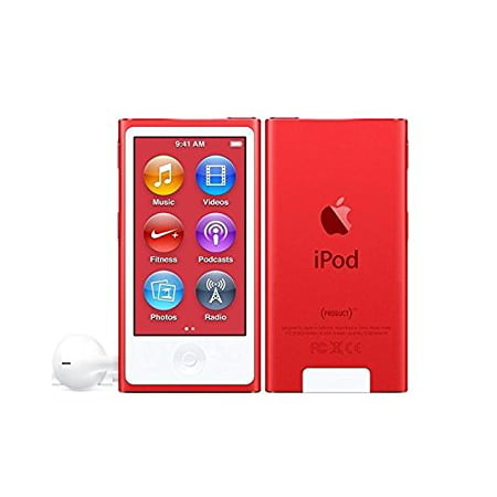 Apple iPod Nano 7th Generation 16GB Red, Very Good Condition in Plain White Box! ** ()