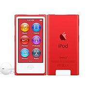 Apple iPod Nano 7th Generation 16GB Red, New in Plain White Box MD744LL/A