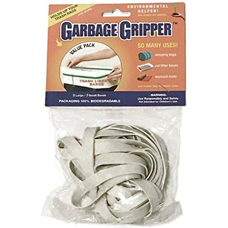 Garbage Gripper Bands (1 Pack of 6 Bands) ()