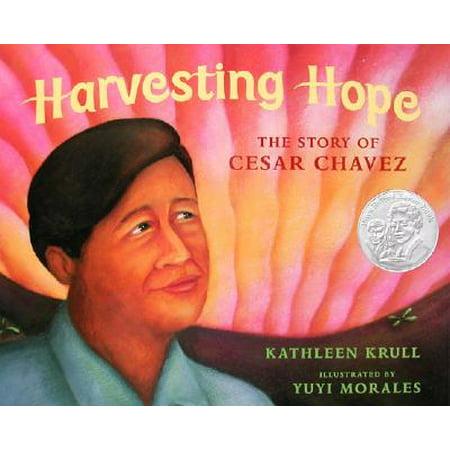 Harvesting Hope: The Story of Cesar Chavez (Hardcover)](Cesar Chavez Halloween)