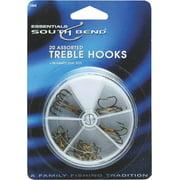 South Bend 20-Piece Treble Hook Assortment