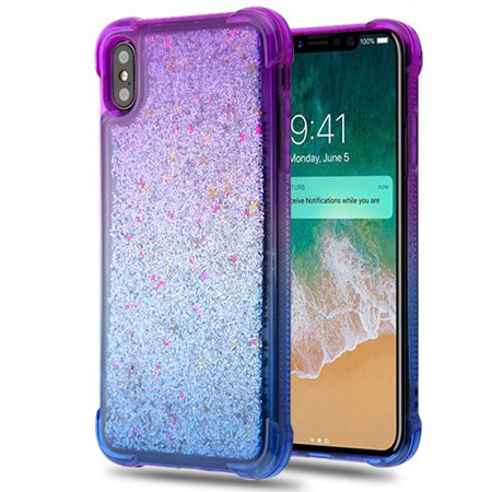 Case Glitter iPhone XS Max Case Liquid
