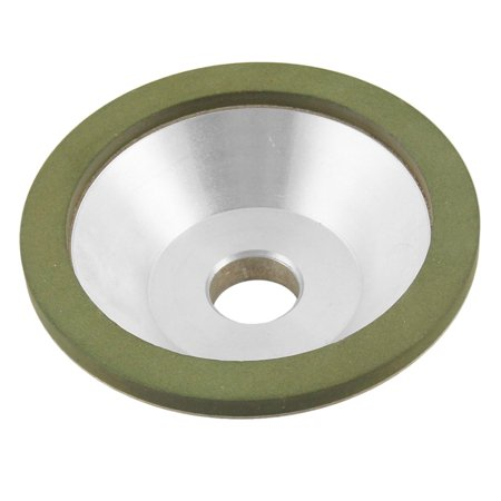 100mm x 32mm Bowl Shaped Resin Bond Diamond Grinding Wheel 240 Grit