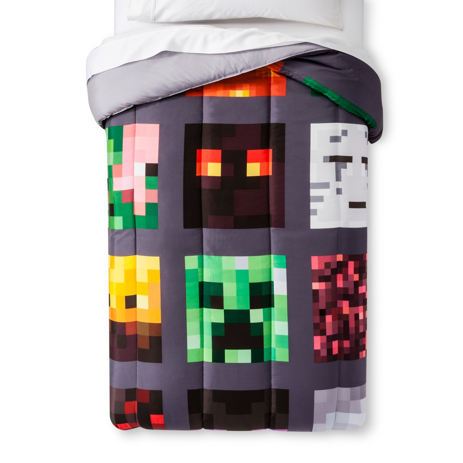 Minecraft Full Comforter and SHeet Set by