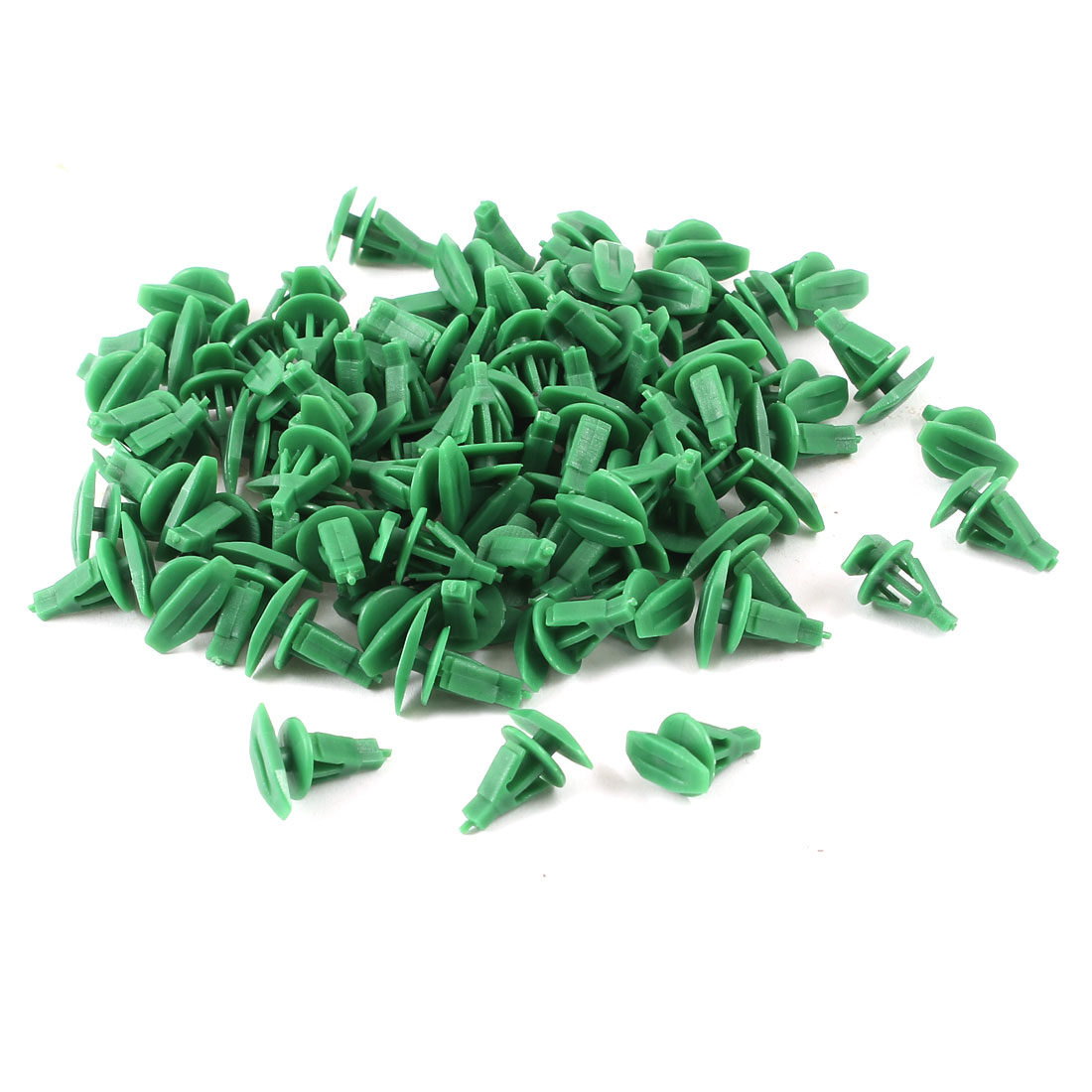 90 Pcs 6mm Hole Plastic Rivet Interior Trim Panel Car Door Retainer Clips