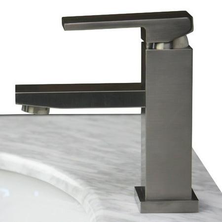 Dana Single Handle Lavatory Faucet in Brushed Nickel