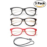 2e9f6fce060 Product Image 3 Pack Newbee Fashion- Cateye Metal Frame Comfortable Stylish  High Quality Readers Cheaters Side Temple