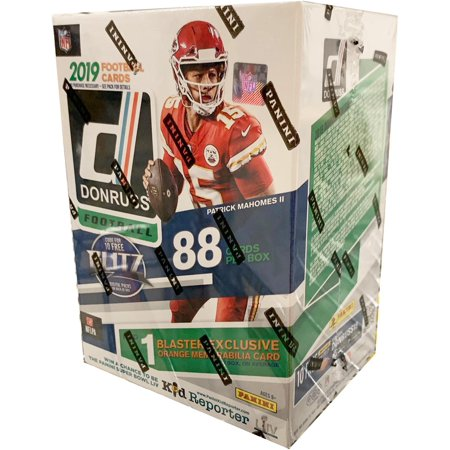 2019 Donruss Football Factory Sealed 11 Pack Blaster Box - Fanatics (Most Red Cards In A Football Game)