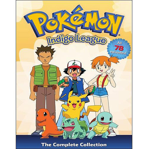 Pokemon: Season 1 Indigo League: Complete Collection (Full Frame)