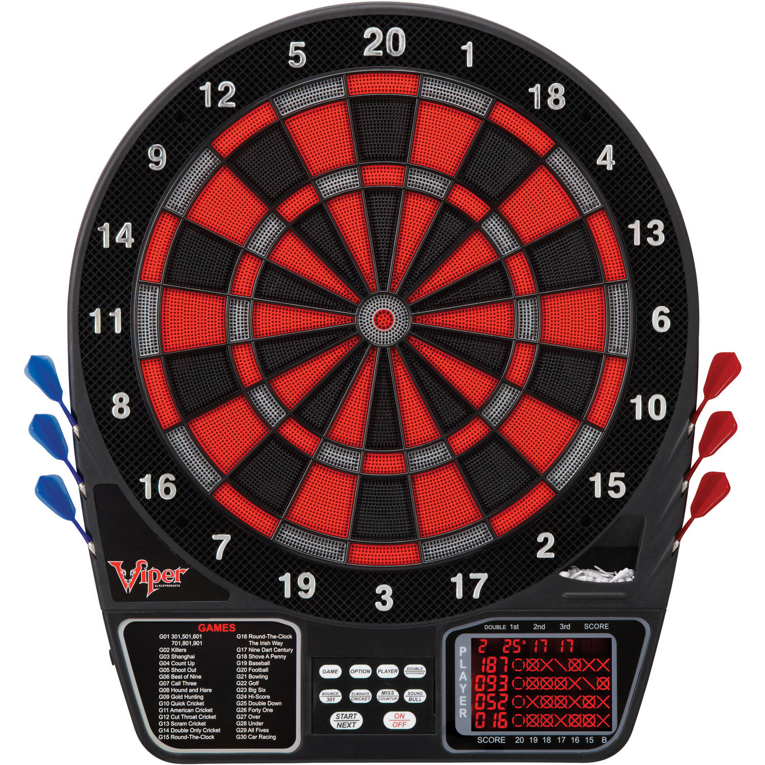 Viper 797 Electronic Dartboard by Generic