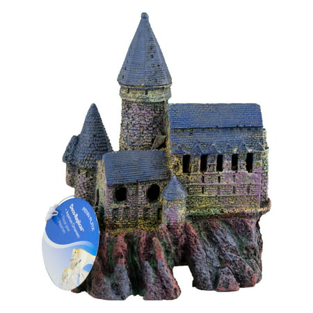 Penn-Plax Deco-Replicas Aquarium Ornament, Magical Castle, Medium