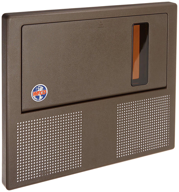WFCO WF-8955PEC-DA Brown Replacement Door for Converter//Charger