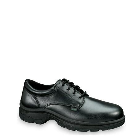 Thorogood Soft Streets Series Plain Toe Oxford, Black - 9 M US
