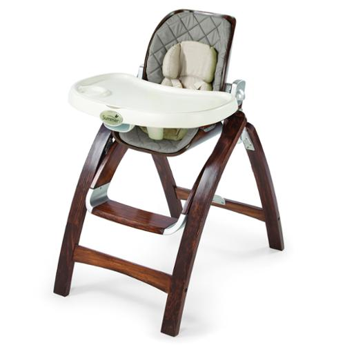 Summer Infant Bentwood High Chair - Goose Down Gray