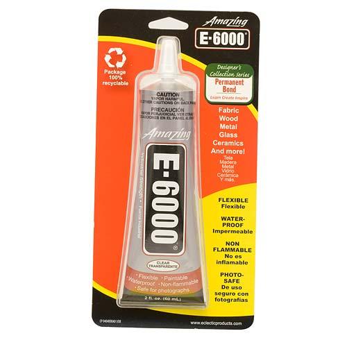 E6000 Industrial Strength Glue Adhesive 2 Oz Walmart Com