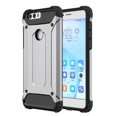 cheap for discount 34690 5f76c HONOR 8 CASE, HUAWEI HONOR 8 CASE, Premium SLEEK SLIM FIT DURABLE  Anti-scratch Dual Layer Shockproof Dustproof Armor Protective HONOR 8 CASE,  HUAWEI ...