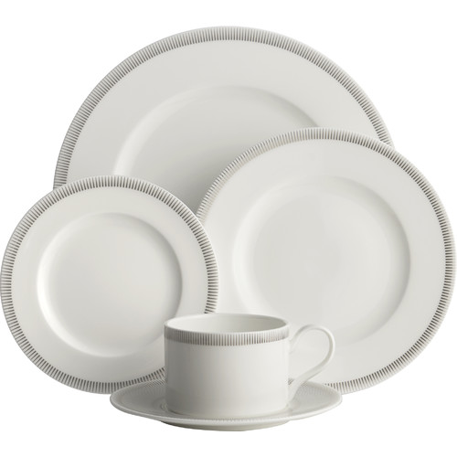 Auratic Inc. Allure 5 Piece Place Setting by Auratic Inc.