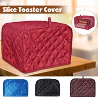 Two Slices Bread Toaster Cover Polyester Protector Dustproof For Home Kitchen Machine Washable