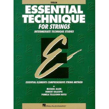 Essential Technique for Strings: Violin : Intermediate Technique Studies (Essential 2000 Violin)
