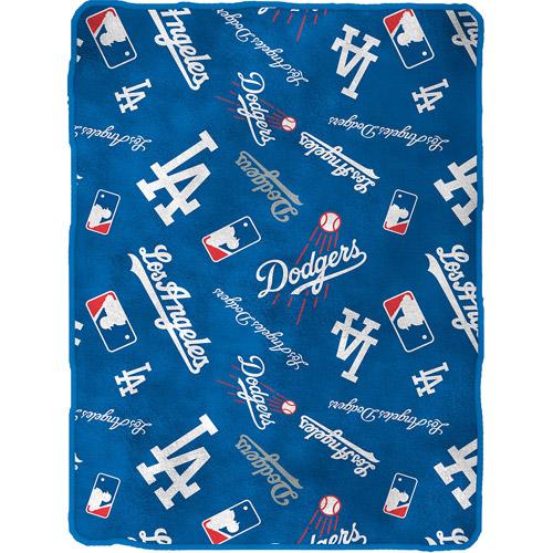 "Dodgers Royal Plush 50"" x 60"" Throw"