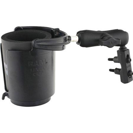 Level Cup 16oz Drink Holder Brake/Clutch Reservoir Mount