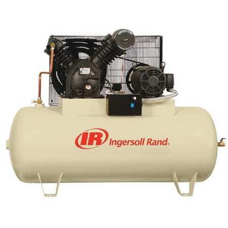 "Ingersoll-Rand 72"", Electric Air Compressor, 2545E10V"