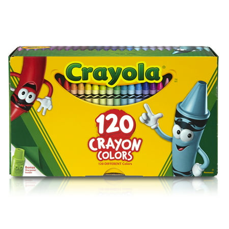 Crayola 120 count Tuck Box with Classic Color Crayons Perfect for Storage, Travel, and Gifts - Box Of Crayons Homemade Halloween Costume